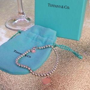 Sterling Silver Return to Tiffany Bead Bracelet
